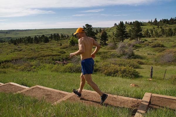 Foothills in summer, Boulder, Colorado