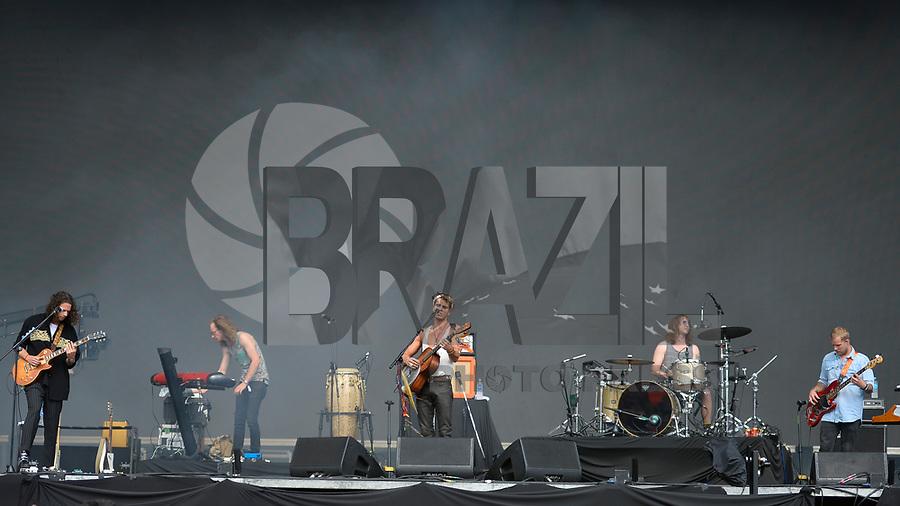 SÃO PAULO,SP, 24.03.2018 - LOLLAPALOOZA 2018 – Banda Kaleo se apresenta no festival Lollapalooza 2018, realizado no Autódromo de Interlagos em São Paulo, na tarde deste sábado, 24. (Foto: Levi Bianco/Brazil Photo Press)