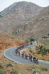 The peloton during Stage 9 of La Vuelta d'Espana 2021, running 188km from Puerto Lumbreras to Alto de Velefique, Spain. 22nd August 2021.    <br /> Picture: Cxcling   Cyclefile<br /> <br /> All photos usage must carry mandatory copyright credit (© Cyclefile   Cxcling)