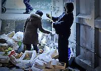 Spain, Madrid. Hungry Market 2011