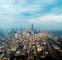 Chicago skyline with Sears tower, 2004