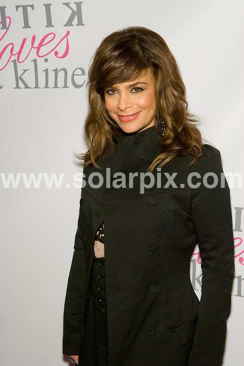 **ALL ROUND PICTURES FROM SOLARPIX.COM**.**SYNDICATION RIGHTS FOR UK, SPAIN, PORTUGAL, AUSTRALIA, S.AFRICA & DUBAI (U.A.E) ONLY**.Kritik Clothing Party, Beverly Hills, Los Angeles, California, USA. 10th April 2008..This pic: Paula Abdul..JOB REF: 6114 PHZ/Chris Hatcher DATE: 10_04_2008.**MUST CREDIT SOLARPIX.COM OR DOUBLE FEE WILL BE CHARGED* *UNDER NO CIRCUMSTANCES IS THIS IMAGE TO BE REPRODUCED FOR ANY ONLINE EDITION WITHOUT PRIOR PERMISSION*