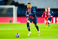 13th April 2021; Parc de Princes, Paris, France; UEFA Champions League football, quarter-final; Paris Saint Germain versus Bayern Munich;  Kylian Mbappe (PSG)