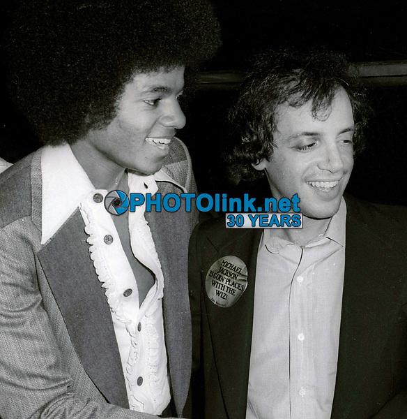 Michael Jackson and Steve Rubell 1978<br /> Photo By John Barrett/PHOTOlink