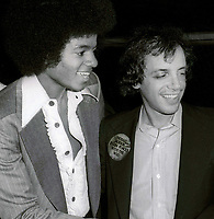 Michael Jackson and Steve Rubell 1978<br /> Photo By John Barrett/PHOTOlink