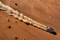 309 Al Rajhi Yazeed (sau), Zhiltsov Konstantin (rus), Toyota Hilux, Overdrive Toyota, Auto, Car, action during Stage 3 of the Dakar 2020 between Neom and Neom, 489 km - SS 404 km, in Saudi Arabia, on January 7, 2020 - <br /> Rally Dakar <br /> 07/01/2020 <br /> Photo DPPI / Panoramic / Insidefoto
