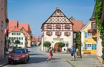 Deutschland, Bayern, Mittelfranken, Merkendorf: Marktplatz mit  Rathaus | Germany, Bavaria, Middle Franconia, Merkendorf: Market Square with Townhall