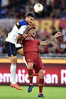Jose Luis Palomino of Atalanta BC , Lorenzo Pellegrini of AS Roma <br /> Roma 25-9-2019 Stadio Olimpico <br /> Football Serie A 2019/2020 <br /> AS Roma - Atalanta Bergamasca Calcio <br /> Foto Andrea Staccioli / Insidefoto
