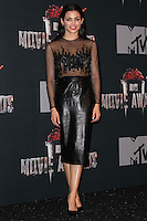 LOS ANGELES, CA, USA - APRIL 13: Jenna Dewan-Tatum in the press room at the 2014 MTV Movie Awards held at Nokia Theatre L.A. Live on April 13, 2014 in Los Angeles, California, United States. (Photo by Xavier Collin/Celebrity Monitor)