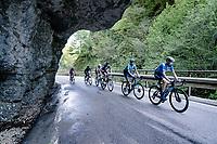 up the Passo di San Valentino (cat.1)<br /> <br /> 104th Giro d'Italia 2021 (2.UWT)<br /> Stage 17 from Canazei to Sega di Ala (193km)<br /> <br /> ©kramon