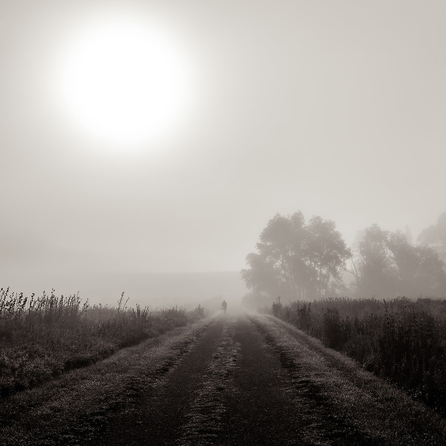 MORNING FOG #michaelknapstein #midwest #midwestmemoir #blackandwhite #B&W #monochrome #instblackandwhite #blackandwhiteart #flair_bw #blackandwhite_perfection #motherfstop #wisconsin #blackandwhiteisworththefight #bnw_captures #bwphotography #myfeatureshoot  #fineartphotography #americanmidwest #squaremag #lensculture