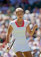 23-6-09, England, London, Wimbledon, Stefanie Voegele