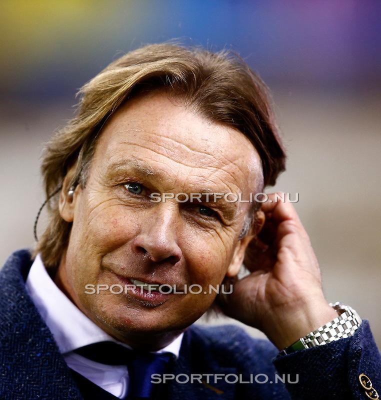 Nederland, Arnhem, 13 februari 2016<br /> Eredivisie<br /> Seizoen 2015-2016<br /> Vitesse-SC Heerenveen <br /> Presentator Hans Kraay jr.