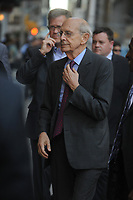 NEW YORK, NY - SEPTEMBER 14: Supreme Court of the United States Associate Justice Stephen Breyer  enters the 'The Late Show With Stephen Colbert' taping at the Ed Sullivan Theater on September 14, 2015 in New York City.<br /> <br /> <br /> People:  Supreme Court of the United States Associate Justice Stephen Breyer