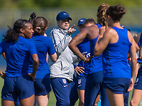 San Jose, CA - May 10, 2019: The USWNT trains in preparation for an international friendly against South Africa.