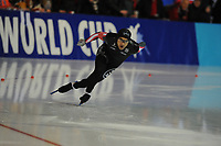 SPEEDSKATING: ERFURT: 19-01-2018, ISU World Cup, 500m Men A Division, Gilmore Junio (CAN), photo: Martin de Jong