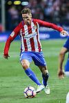 Atletico de Madrid's Fernando Torres during the match of La Liga Santander between Atletico de Madrid and Deportivo Alaves at Vicente Calderon Stadium. August 21, 2016. (ALTERPHOTOS/Rodrigo Jimenez)