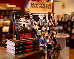 """July 26, 2017. Raleigh, North Carolina.<br /> <br /> Copies of """"Refugee"""" were displayed at the check out of Quail Ridge Books. <br /> <br /> Author Alan Gratz spoke about and signed his new book """"Refugee"""" at Quail Ridge Books. The young adult fiction novel contrasts the stories of three refugees from different time periods, a Jewish boy in 1930's Germany , a Cuban girl in 1994 and a Syrian boy in 2015."""