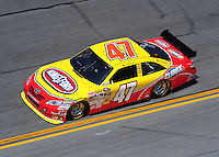 Feb 07, 2009; Daytona Beach, FL, USA; NASCAR Sprint Cup Series driver Marcos Ambrose during practice for the Daytona 500 at Daytona International Speedway. Mandatory Credit: Mark J. Rebilas-