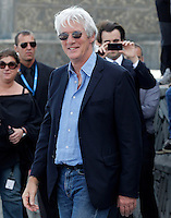 Richard Gere (l)) and the film director Nicholas Jarecki attend the photocall for 'The Holes' during the 60th San Sebastian Donostia International Film Festival - Zinemaldia.September 21,2012..(ALFAQUI/Acero) .San Sebastian 21/9/2012.San Sebastian Film Festival.Foto Insidefoto / Alterphotos.ITALY ONLY