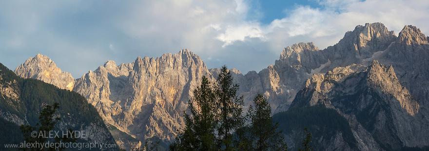 Martuljek mountain group, Triglav National Park, Julian Alps, Slovenia, July.