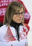 Sonja Gaudet, Sochi 2014 - Wheelchair Curling // Curling en fauteuil roulant.<br /> Canada takes on Slovakia in round robin play // Le Canada affronte la Slovaquie dans le tournoi à la ronde. 13/03/2014.