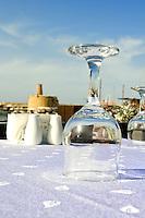 Nordzypern, Restaurant am Hafen von Girne (Keryneia, Kyrenia)