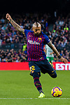 Arturo Vidal of FC Barcelona in action during the La Liga 2018-19 match between FC Barcelona and Real Betis at Camp Nou, on November 11 2018 in Barcelona, Spain. Photo by Vicens Gimenez / Power Sport Images