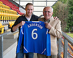 St Johnstone Players Sponsors Night, McDiarmid Park...09.05.12.Steven Anderson.Picture by Graeme Hart..Copyright Perthshire Picture Agency.Tel: 01738 623350  Mobile: 07990 594431