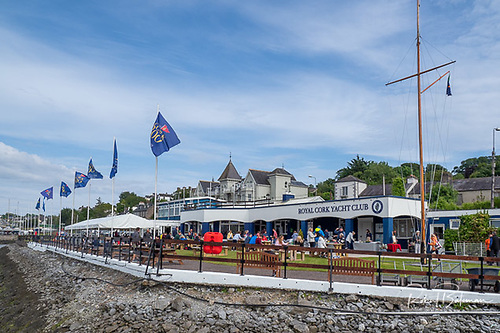 Royal Cork Yacht Club was the venue for the Admiral's Chace midsummer's BBQ