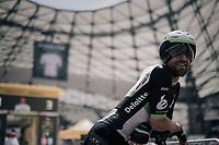 Bernhard 'Bernie' Eisel (AUT/Dimension Data) before his start in the Orange Vélodrome<br /> <br /> 104th Tour de France 2017<br /> Stage 20 (ITT) - Marseille › Marseille (23km)