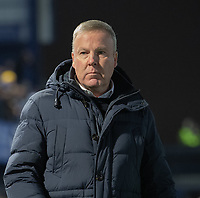 Portsmouth manager Kenny Jackett <br /> <br /> Photographer David Horton/CameraSport<br /> <br /> The EFL Sky Bet League One - Portsmouth v Fleetwood Town - Tuesday 10th March 2020 - Fratton Park - Portsmouth<br /> <br /> World Copyright © 2020 CameraSport. All rights reserved. 43 Linden Ave. Countesthorpe. Leicester. England. LE8 5PG - Tel: +44 (0) 116 277 4147 - admin@camerasport.com - www.camerasport.com