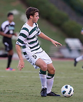 Number 8 ranked Charlotte beats number 16 ranked Coastal Carolina 1-0 on a goal by Thomas Allen in the 101st minute during the second overtime.  Thomas Allen (5)