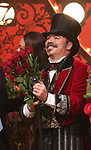 """Danny Burstein during the Broadway Opening Night performance Curtain Call bows for """"Moulin Rouge! The Musical"""" at the Al Hirschfeld Theatre on July 25, 2019 in New York City."""