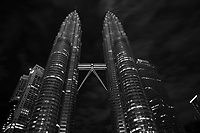 Petronas Towers at night, Kuala Lumpur,<br /> by Roussel Fine Art Photo