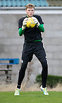 St Johnstone Training…..21.10.16<br />Keeper Ben McKenzie pictured during training ahead of Sunday's game against local rivals Dundee<br />Picture by Graeme Hart.<br />Copyright Perthshire Picture Agency<br />Tel: 01738 623350  Mobile: 07990 594431