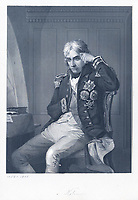 BNPS.co.uk (01202 558833)<br /> Pic: BNPS<br /> <br /> Admiral Lord Nelson.<br /> <br /> Nelson's big 'bullocks'..<br /> <br /> A letter revealing Admiral Lord Nelson's massive meat order for his fleet ahead of the Battle of Trafalgar has sold for over £3,000.<br /> <br /> The naval hero did not want a lack of supplies to compromise the British blockade of the French fleet at Toulon in 1804.<br /> <br /> So he instructed one of his captains to head to Sardinia to collect 'fresh beef' in the form of at least 60 live bullocks, as salted meat was not satisfactory for his men.