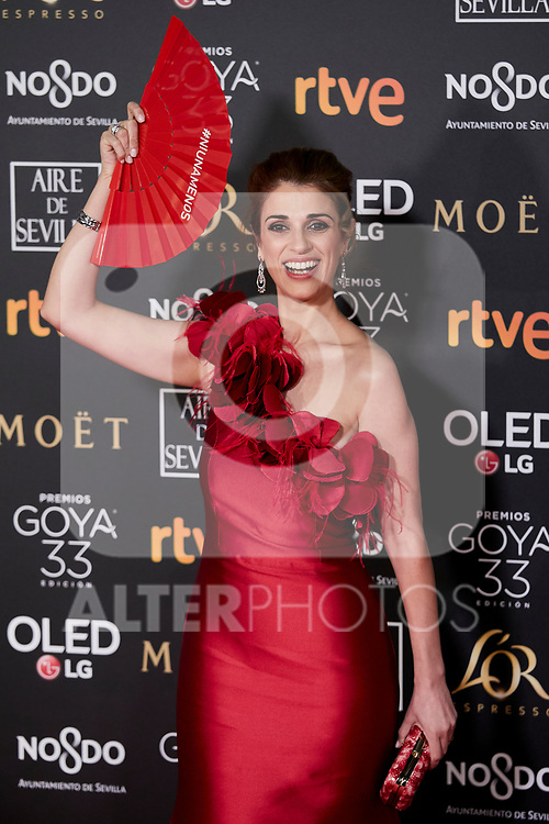 Ruth Gabriel attends to 33rd Goya Awards at Fibes - Conference and Exhibition  in Seville, Spain. February 02, 2019. (ALTERPHOTOS/A. Perez Meca)