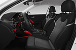 Front seat view of 2017 Audi Q2 Sport 5 Door SUV front seat car photos