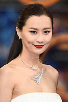 """Fala Chen<br /> arriving for the """"Shang-Chi And The Legend Of The Ten Rings"""" premiere at Curzon Mayfair, London<br /> <br /> ©Ash Knotek  D3570  26/08/2021"""