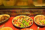Interior, Salad Bar, Ebys Restaurant, Florence, Tuscany, Italy