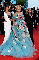 """CANNES, FRANCE - JULY 14: Helena Gatsby, Sharon Stone and Caroline Scheufele at the """"A Felesegam Tortenete/The Story Of My Wife"""" screening during the 74th annual Cannes Film Festival on July 14, 2021 in Cannes, France.<br /> CAP/GOL<br /> ©GOL/Capital Pictures"""