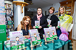 "Book Launch: Emma Larkin, Listowel signing copies  of her book ""Izzy's Magical Football Adventure"" at Kerry Writers Museum, Listowel on Friday nigh last. Also in picture are Christine McKenna & Mags & Emma Foley."