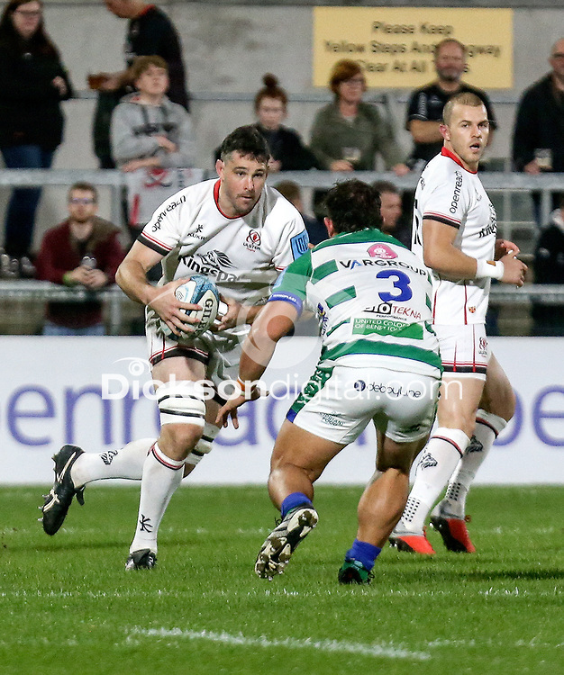 Friday 8th October 2021<br /> <br /> Sam Carter during the URC Round 3 clash between Ulster Rugby and Benetton Rugby at Kingspan Stadium, Ravenhill Park, Belfast, Northern Ireland. Photo by John Dickson/Dicksondigital