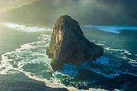 Aketxe island. Bermeo. Coast of Biscay. Urdaibai Region. Bizkaia. Pais Vasco. Basque Country. Spain.