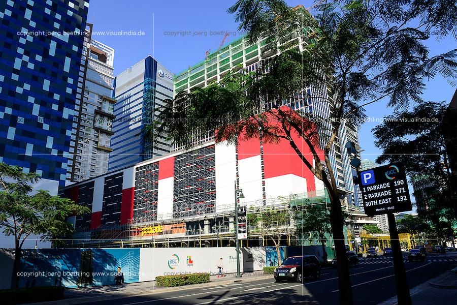 PHILIPPINES, Manila, Bonifacio Global City, Taguig City, callcenter BPO of internatinal finance companies / PHILIPPINEN, Manila, Bonifacio Global City, Taguig City, callcenter und BPO Business Process Outsourcing internationaler Finanzfirmen