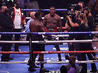 MINNEAPOLIS, MN - JUNE 27: Brandon Glanton (14-0, 11 KOs) defeated Efetobor Apochi (11-1, 11 KOs) on the Fox Sports PBC fight at The Armory on June 27, 2021 in Minneapolis, Minnesota. (Photo by Carlos Gonzalez/Fox Sports/PictureGroup)