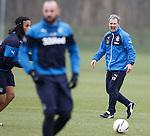 Kenny Black shouting at his players