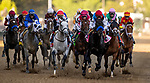 MAY 01, 2021: Medina Spirit with John Velazquez wins the  Kentucky Derby at Churchill Downs in Louisville, Kentucky on May 1, 2021. EversEclipse Sportswire/CSM