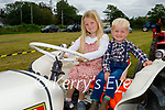 At the vintage tractor run in Abbeydorney on Sunday, l to r: Eve and Phelim Duggan from Farmers Bridge.